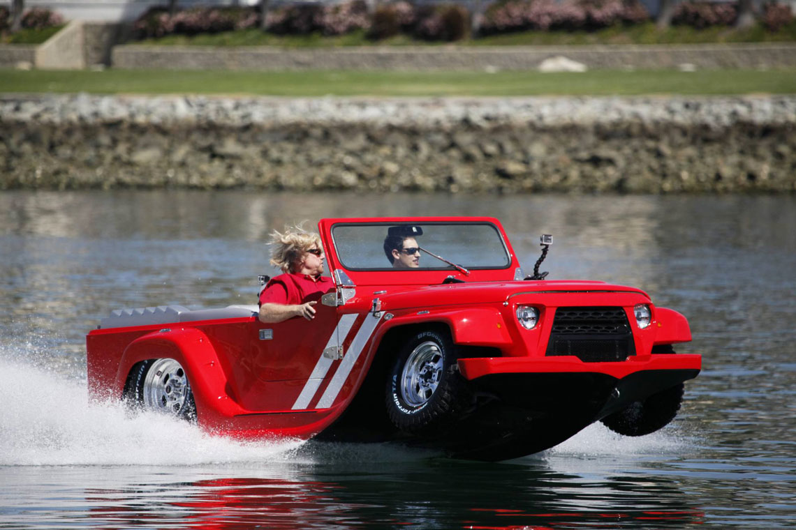 Плавающие автомобили картинки