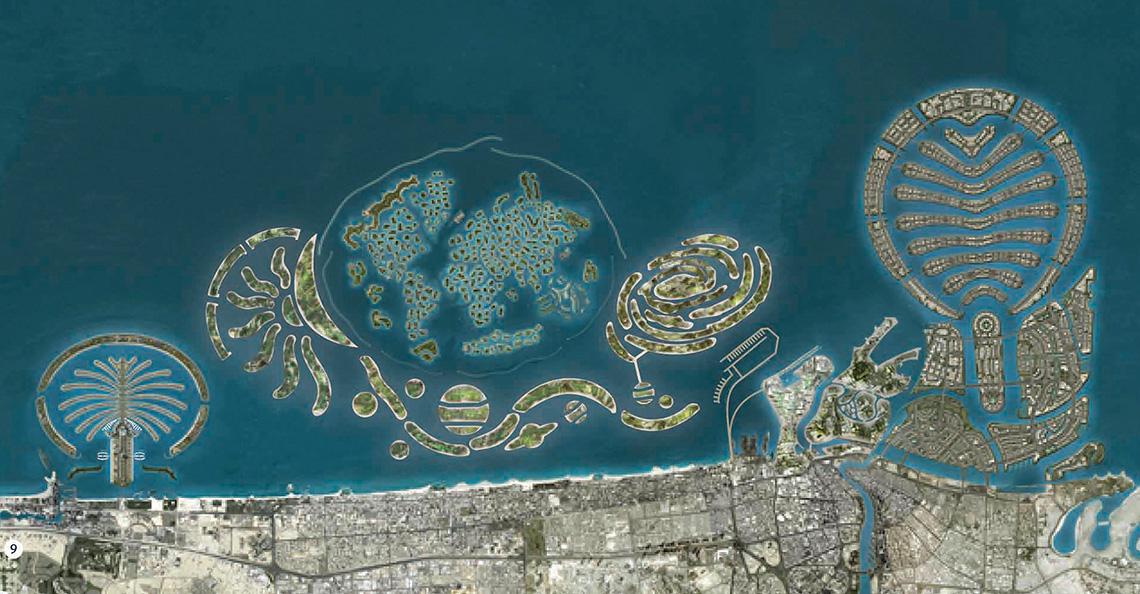 эмираты дубай насыпные острова